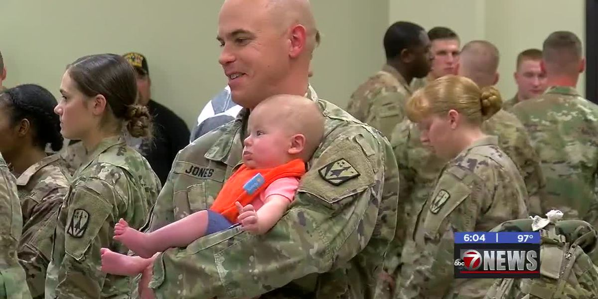 Fort Sill soldiers depart after deployment ceremony