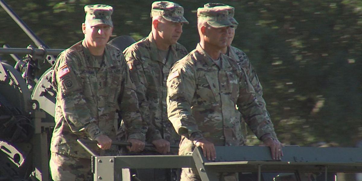 Fort Sill bids farewell to Rossi, welcomes McKiernan