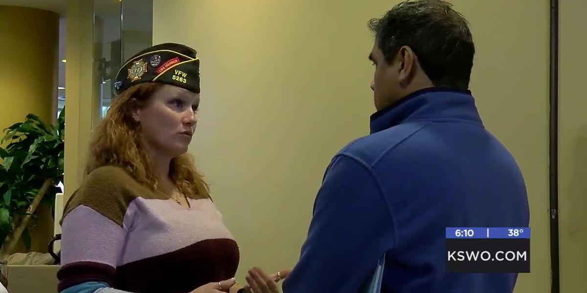Cameron wraps up Veterans Resource Fair