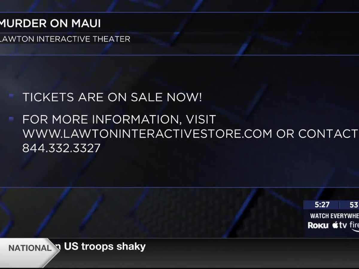 Lawton Interactive Theater to host Murder On Maui