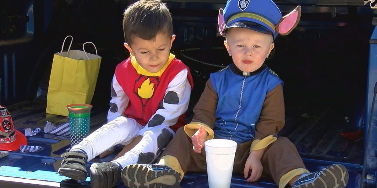 Lawton church holds 'Trunk of Treat' event