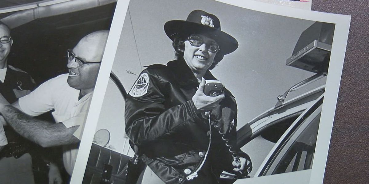 Lawton's first female police officer dies