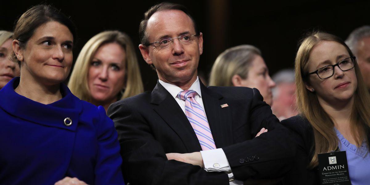 AP sources: Rosenstein spoke of possible secret Trump taping