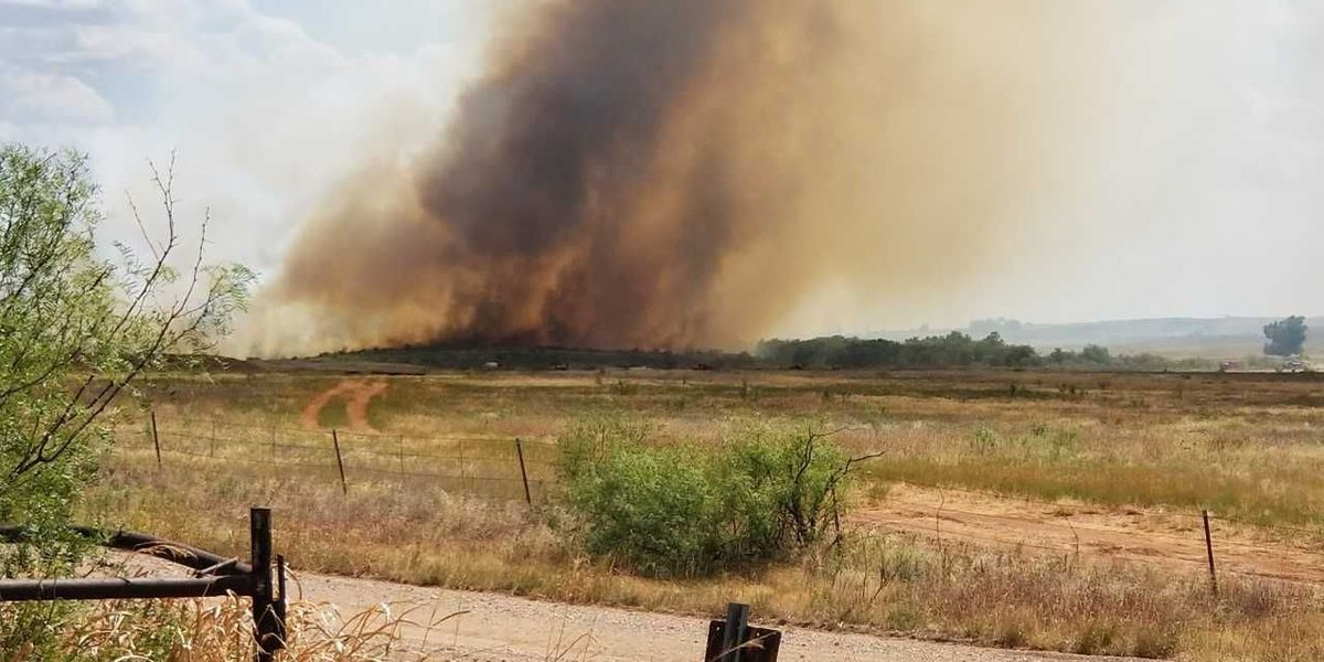 Crews fight large grass fire in Jefferson County