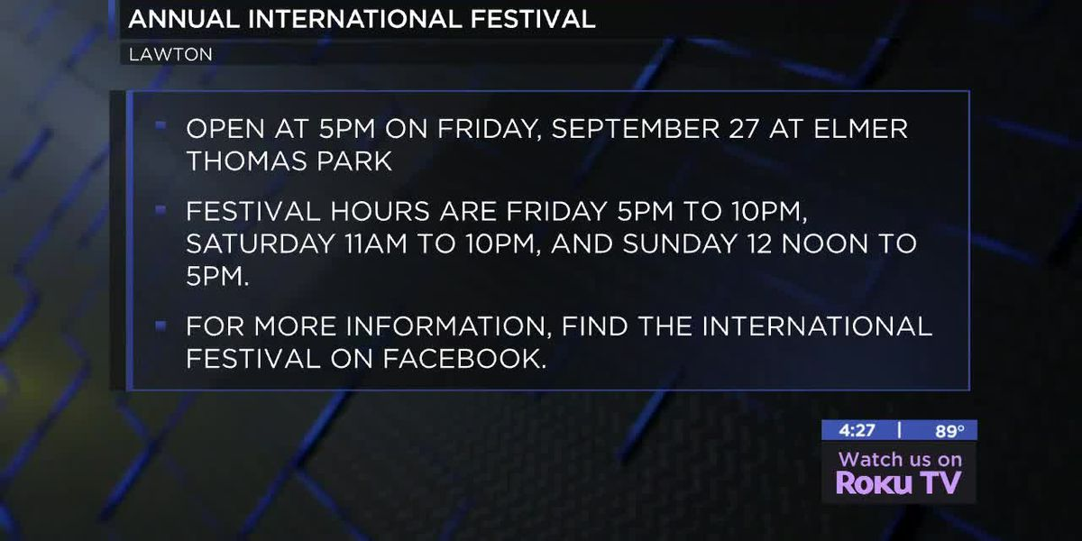 40th annual International Festival coming up in Lawton