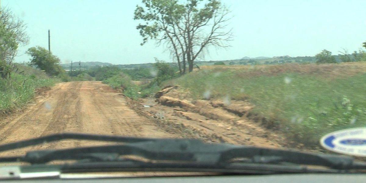 Jackson County declares emergency, heavy rain ruined roads