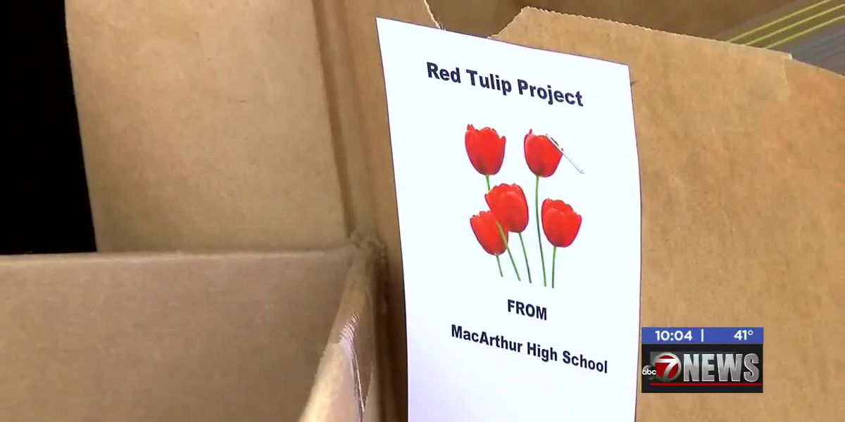 DHS receives Red Tulip Project donations