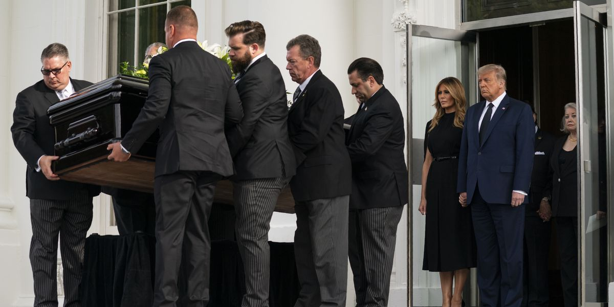 White House holds memorial service for president's brother