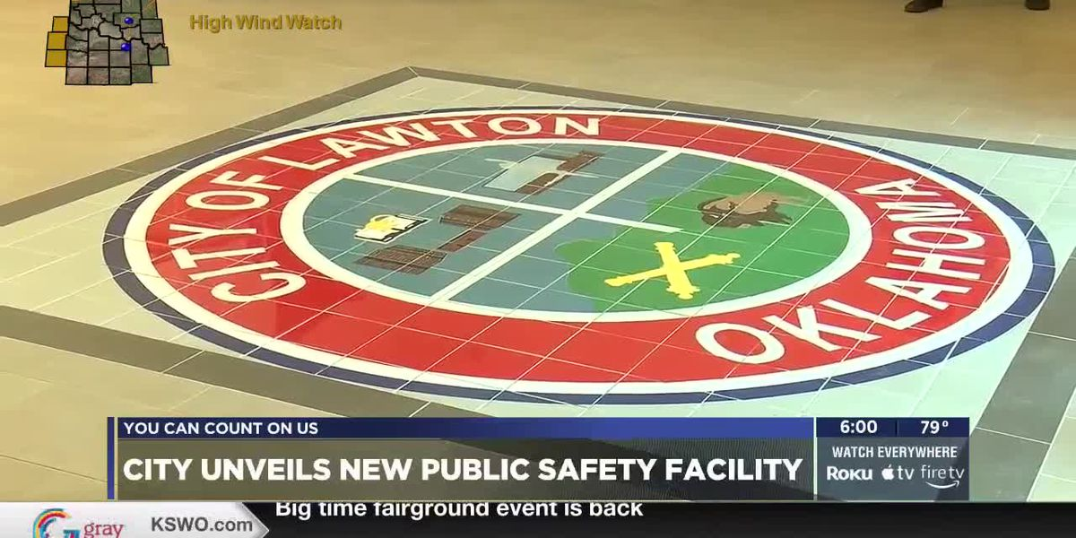 Ribbon-cutting ceremony held at Lawton Public Safety Facility