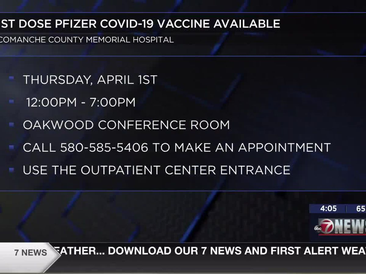 Comanche County Memorial Hospital hosts COVID-19 vaccine clinic