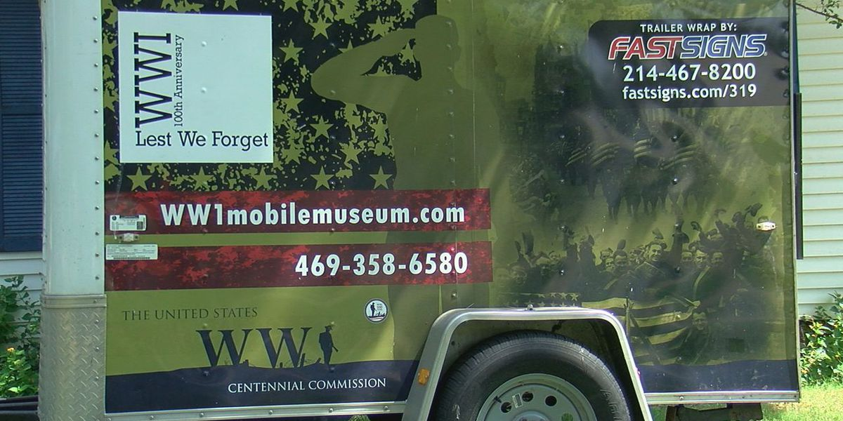 Largest WWI Mobile Museum travels across America but calls Marlow home