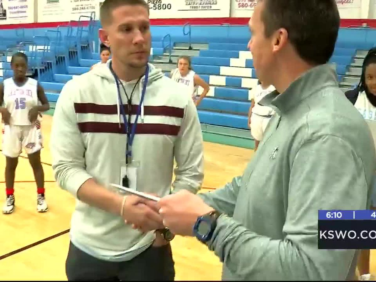 Fellowship of Christian Athletes presents awards to student and coach