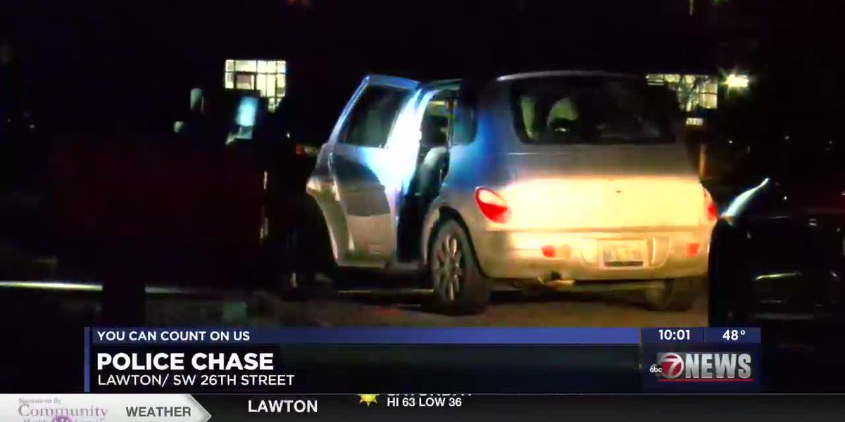 Man leads Lawton Police on chase