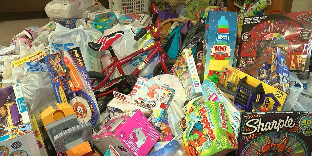 Fletcher Christmas store provides gifts to kids in need