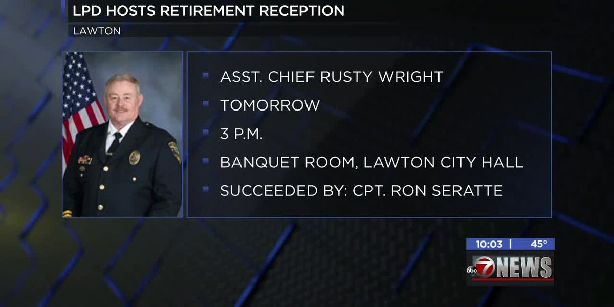 LPD holding promotion and retirement ceremonies