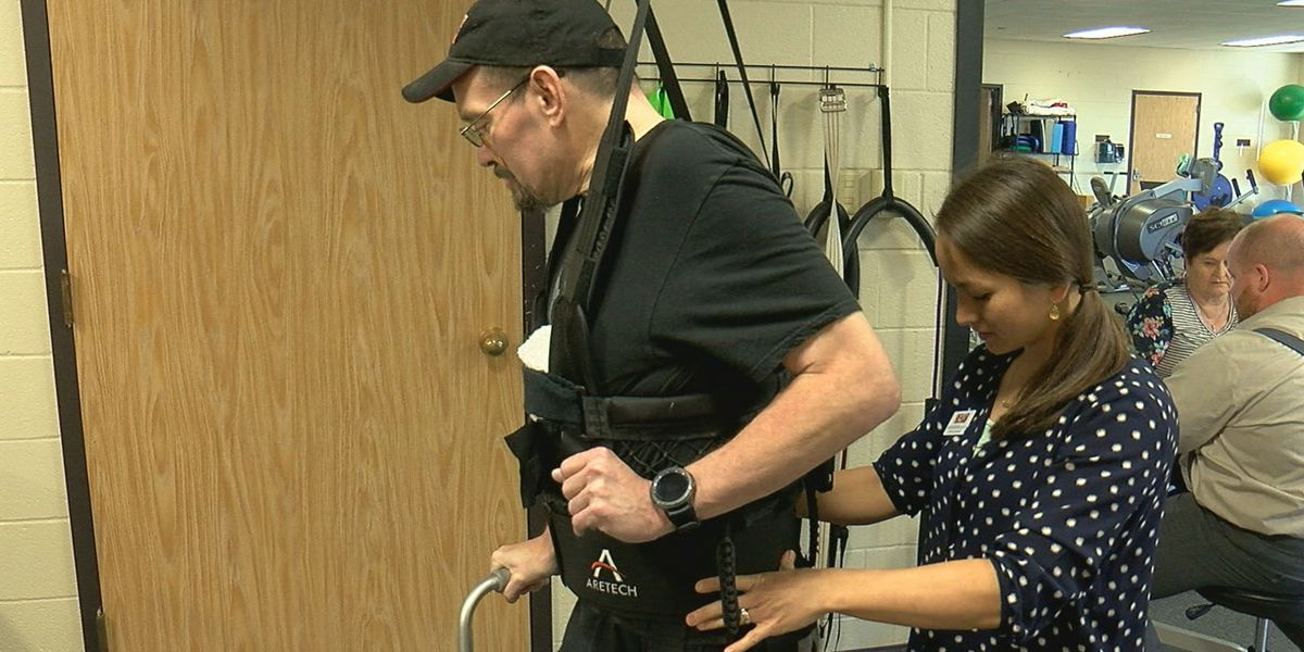 West Texas Rehab helps man walk again