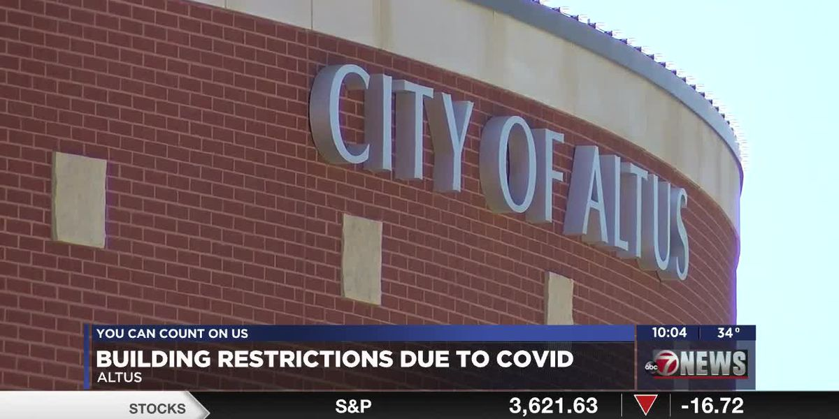 Altus restricts access to city buildings