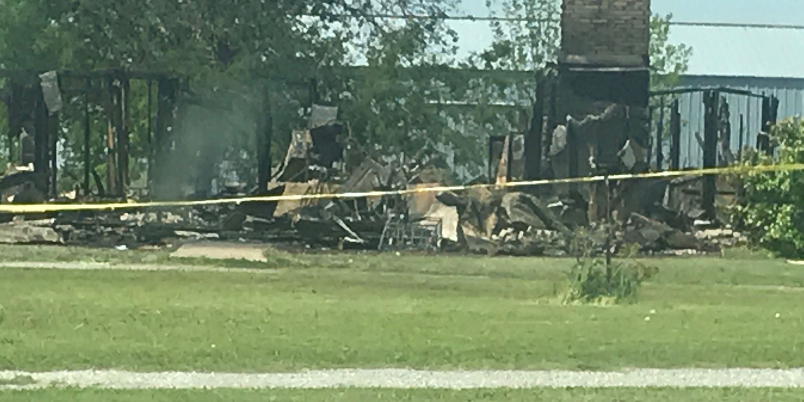 Overnight fire takes two lives in Cotton County