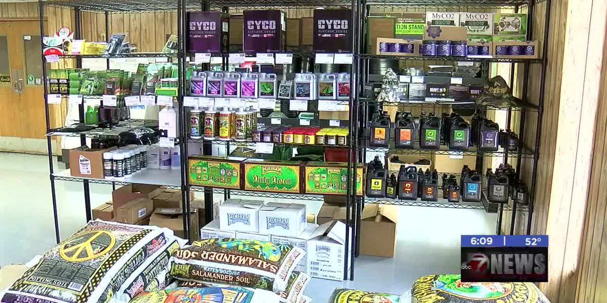 Medical marijuana fuels Lawton's hydroponics retail industry
