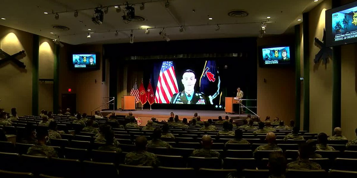 Medal of Honor recipient speaks at Fort Sill