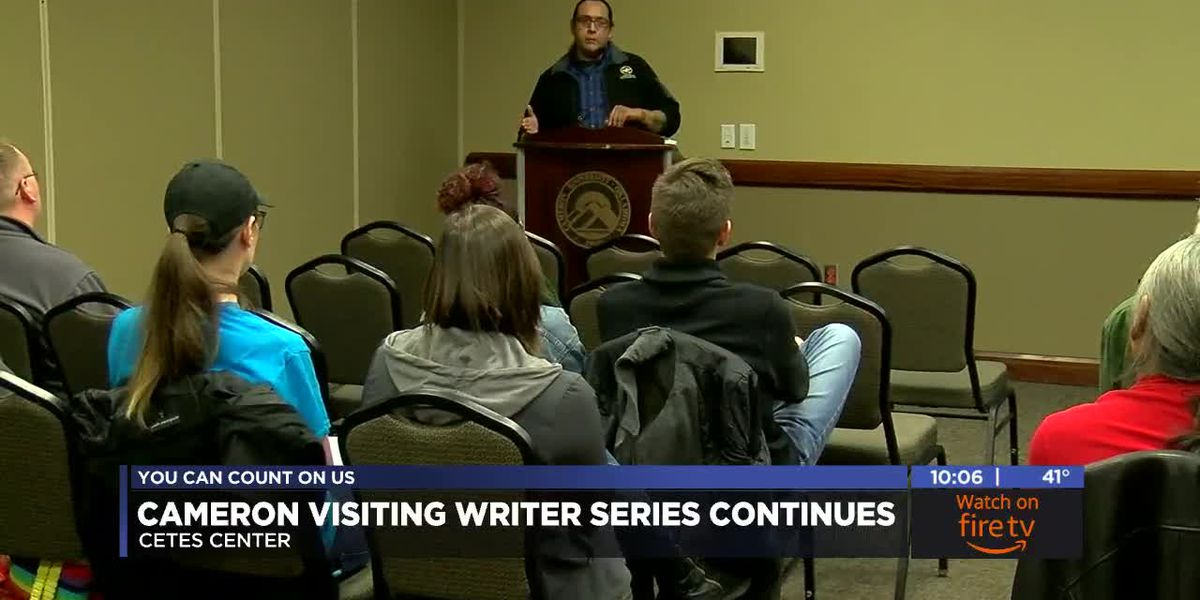 Cameron continues Visiting Writers Series