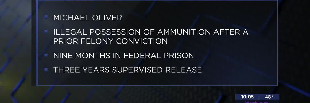Lawton man sentenced to federal prison over ammunition theft