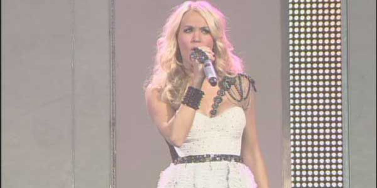 Carrie Underwood's voice stops her baby's crying