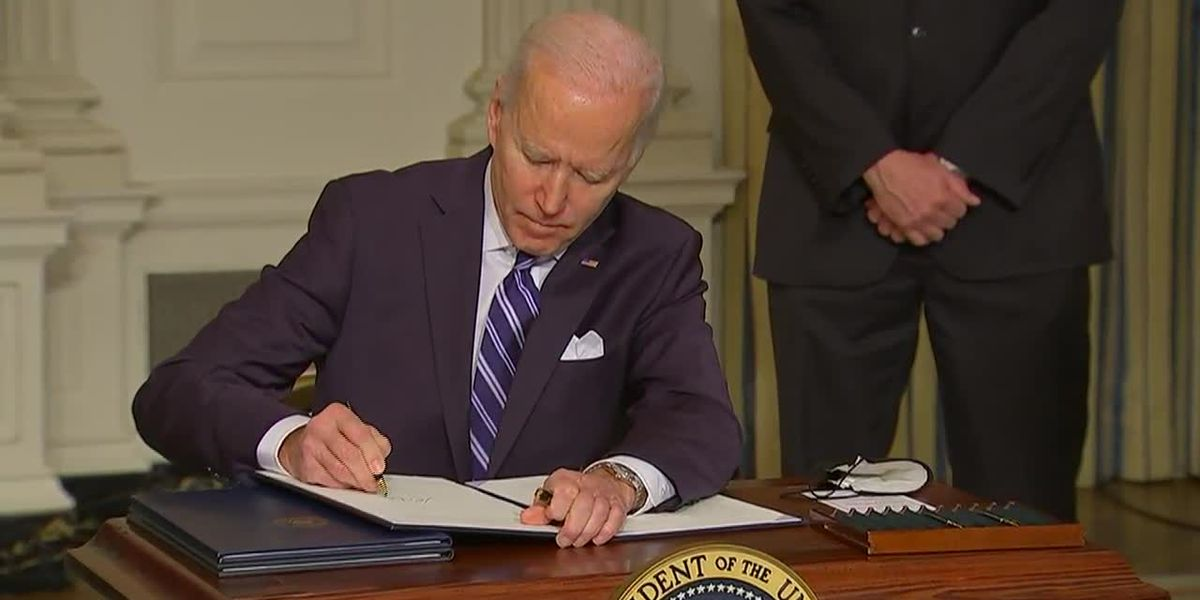 Biden's first 100 days: COVID and climate change