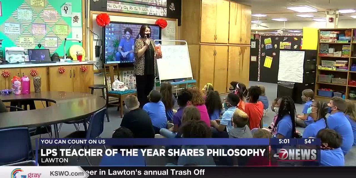 Teacher of the Year Shares Teaching Philosophy