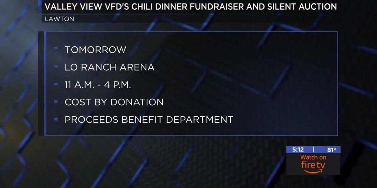 Valley View VFD hosting chili dinner fundraiser and silent auction