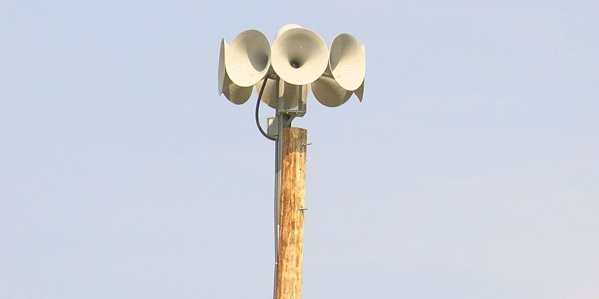 Town of Empire installs new storm sirens