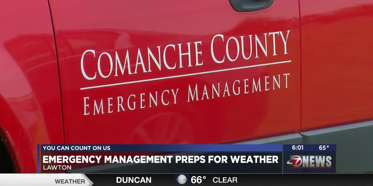 Emergency Managment preps for severe weather