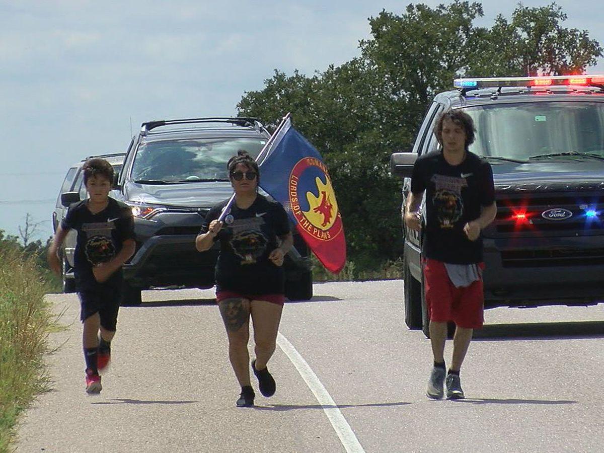 10th Annual Comanche Nation Warrior Spirit Run pays tribute to Cache man