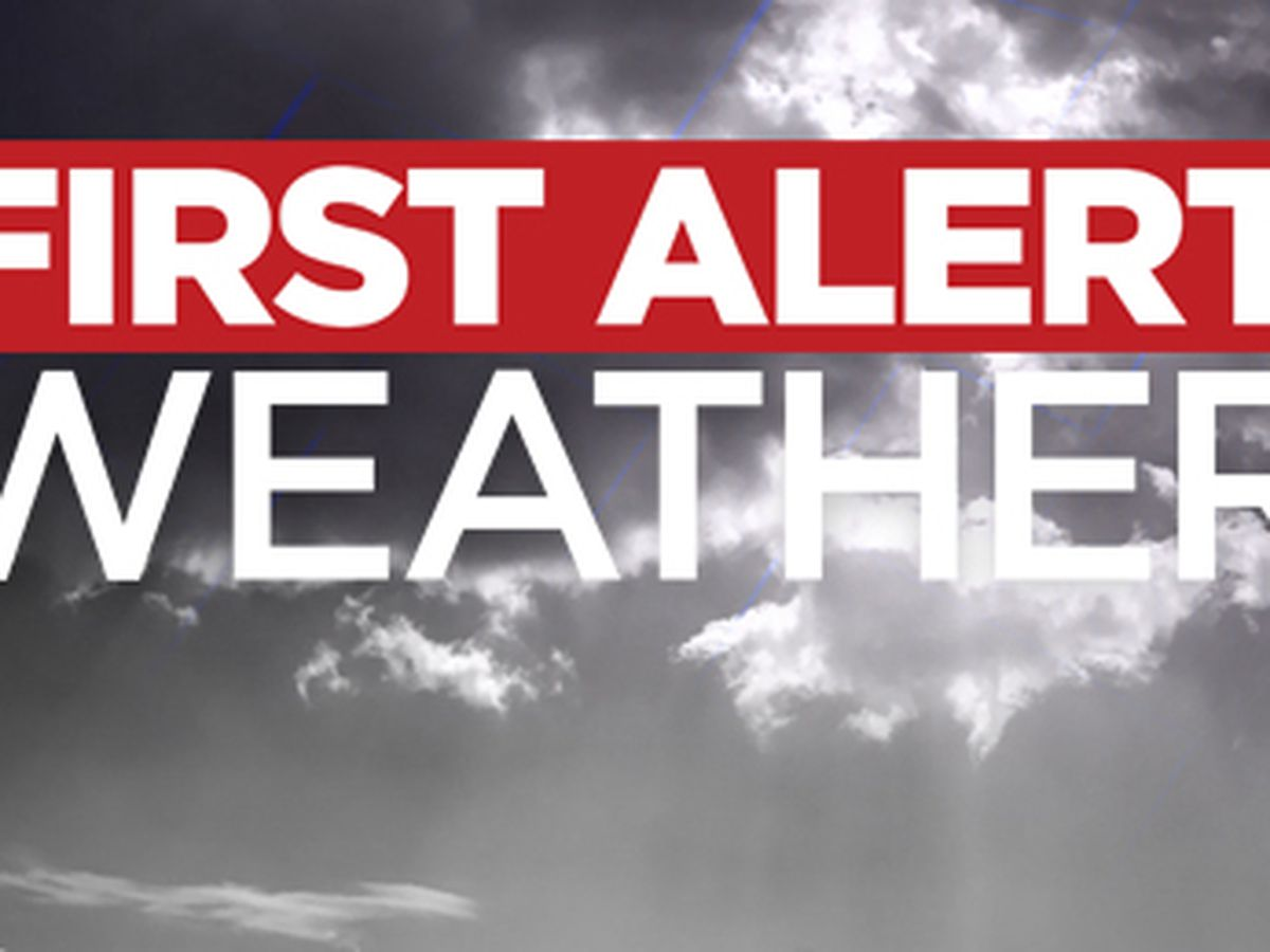 First Alert 7 Forecast: the best chance of rain shifts south as many areas get to dry out