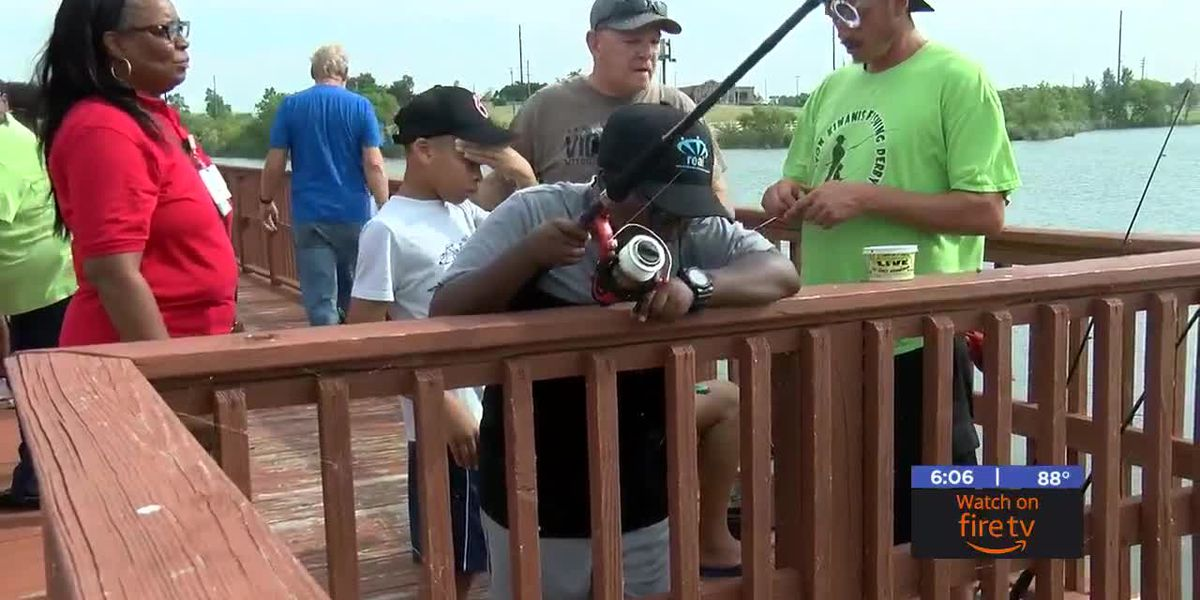 Lawton Kiwanis Club hosts annual Fishing Derby