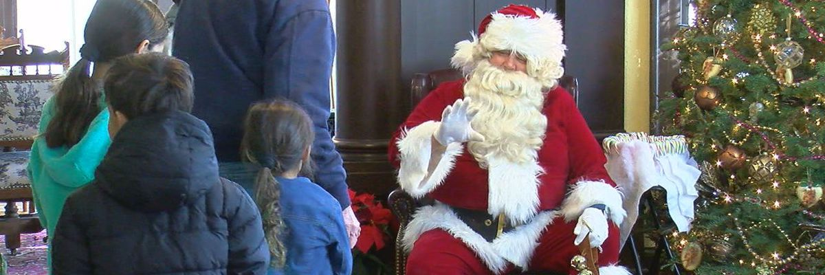 Santa stops by Mattie Beal Home for third annual Christmas event
