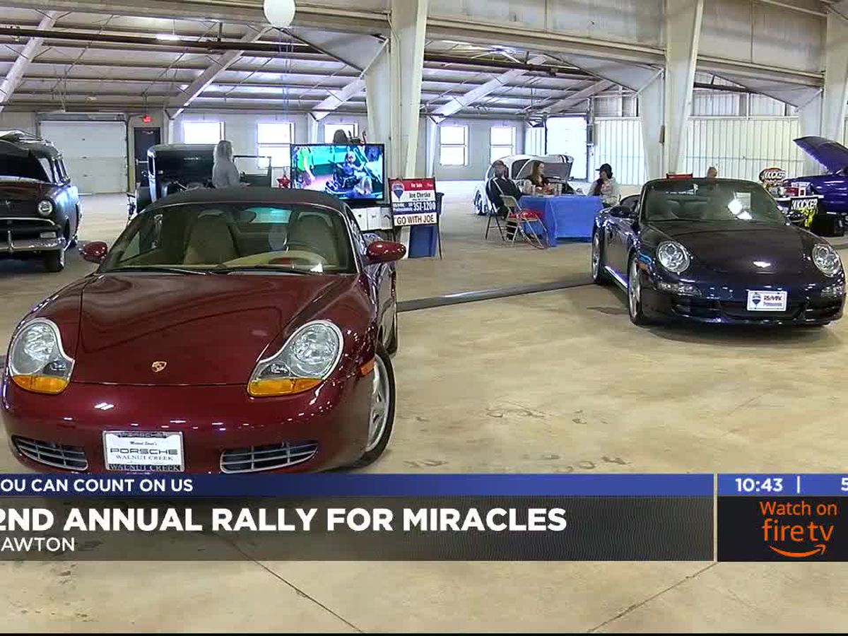 Local realtors hold 'Rally for Miracles' to help raise money