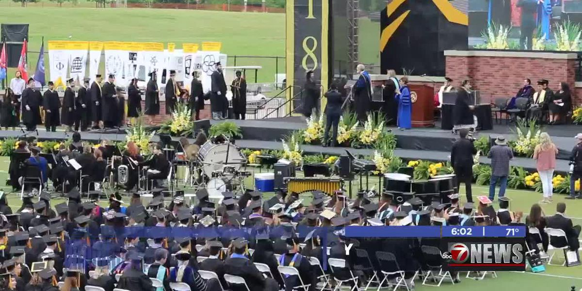 Cameron's 2019 commencement held Saturday morning after postponement