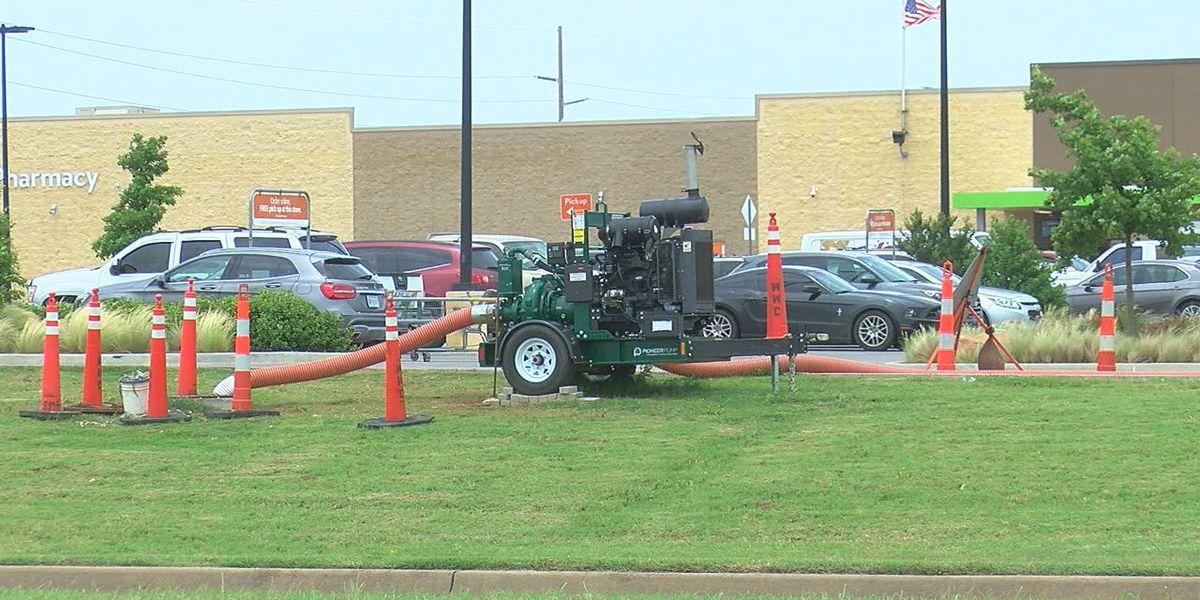 Odors around Lawton caused by collapsed sewer lines