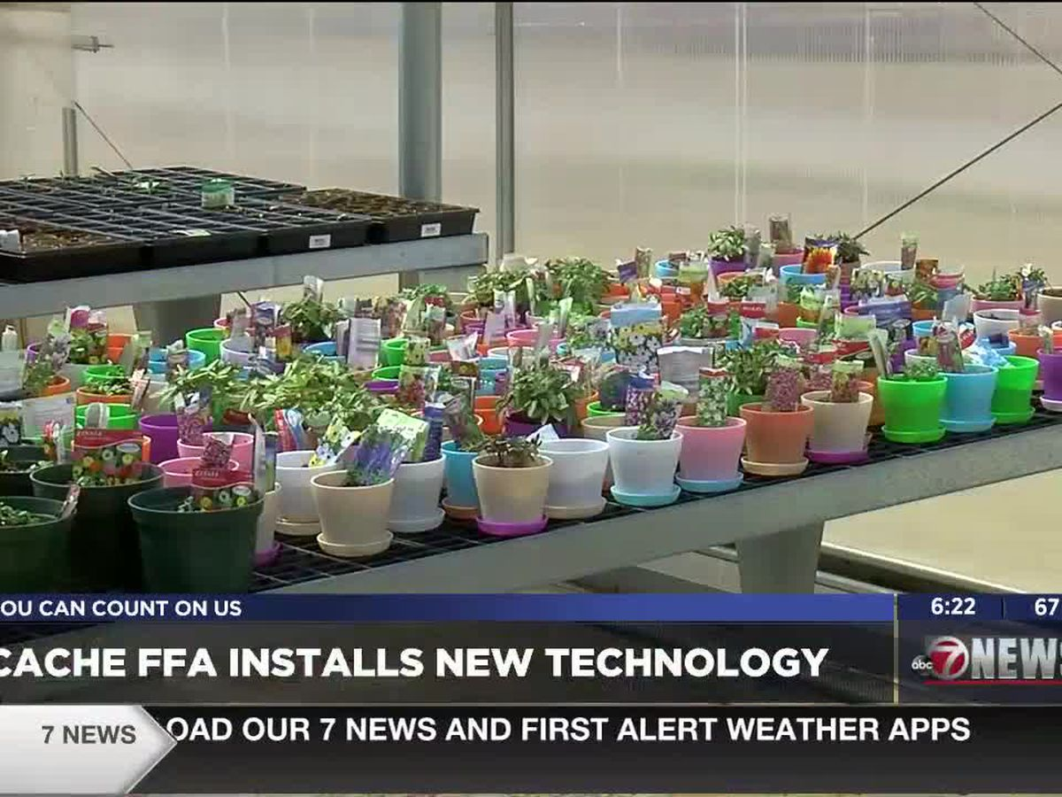 Cache FFA installs new greenhouse technology
