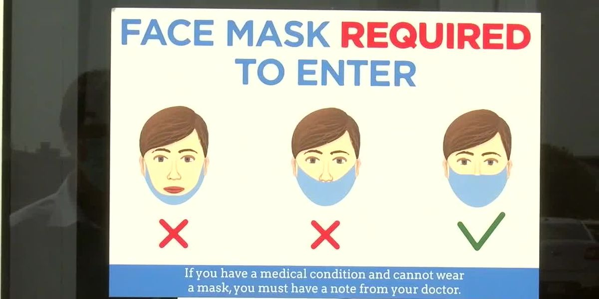 Masks required inside and how that impacts business safety