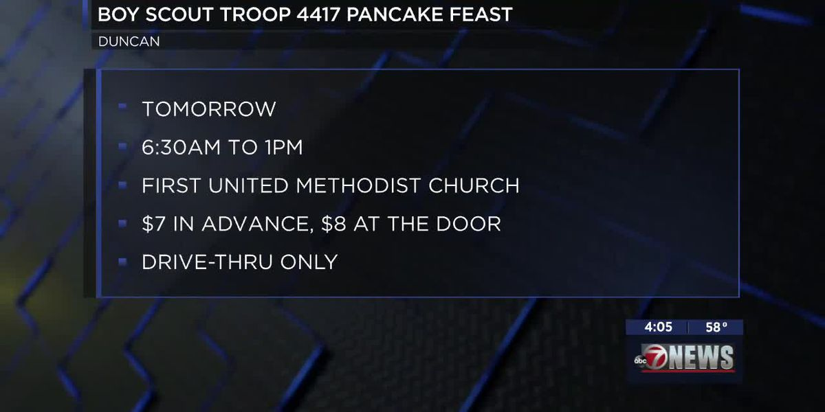 Duncan Boy Scout Troop hosts 51st Annual Pancake Feast