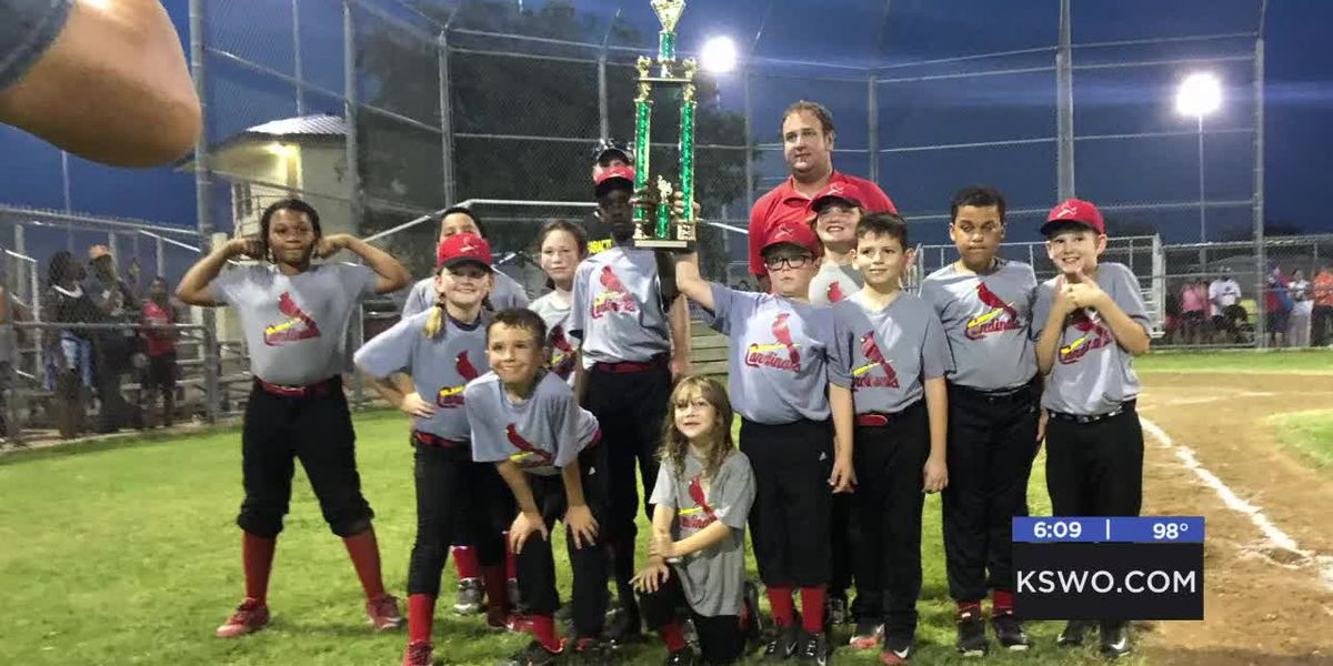 Whittier wins 10-and-under Baseball School City Championship