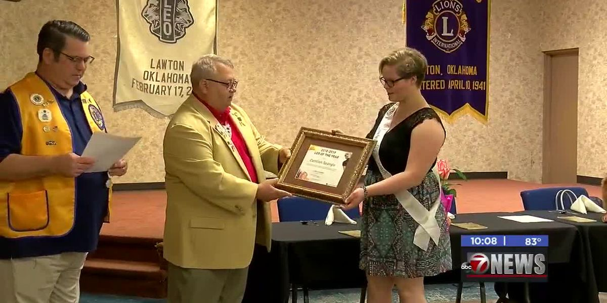 Lawton girl selected as 'Leo of the Year'