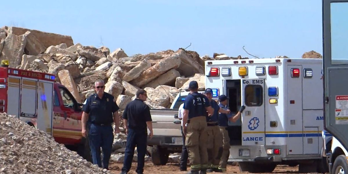 Man caught in rock crusher in Altus