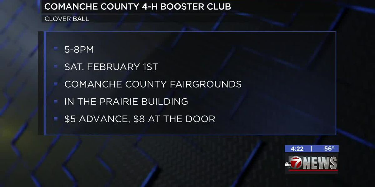 Comanche Co. 4-H Booster Club hosting 'Clover Ball'