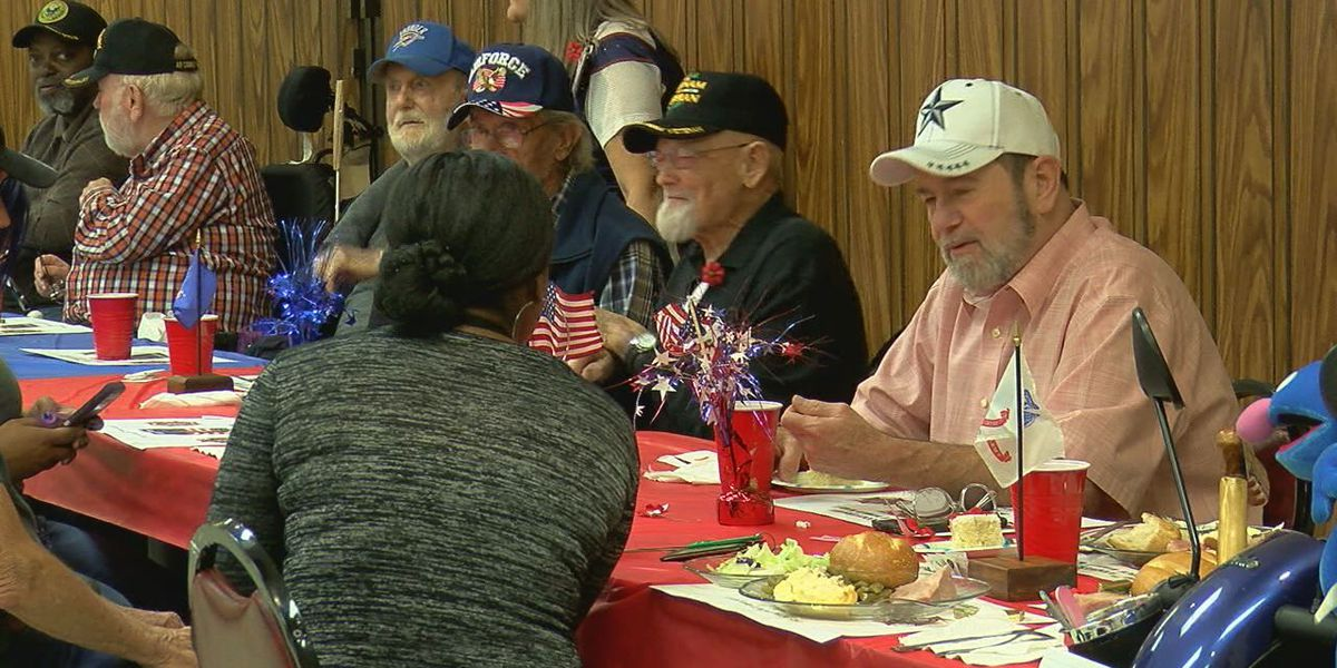 Lawton VFW Post 5263 hosts free luncheon for veterans and their families
