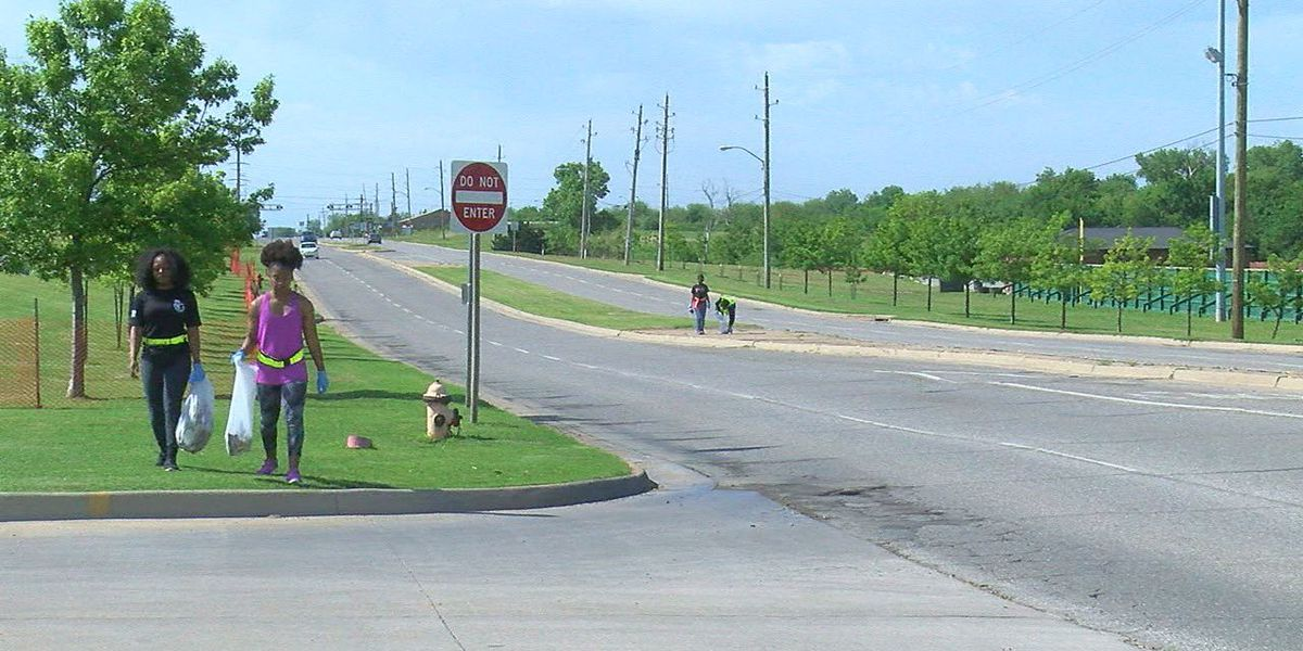 Lawton sorority cleans up 38th street