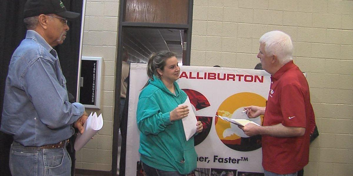 Duncan job fair drives in over 300 prospective employees