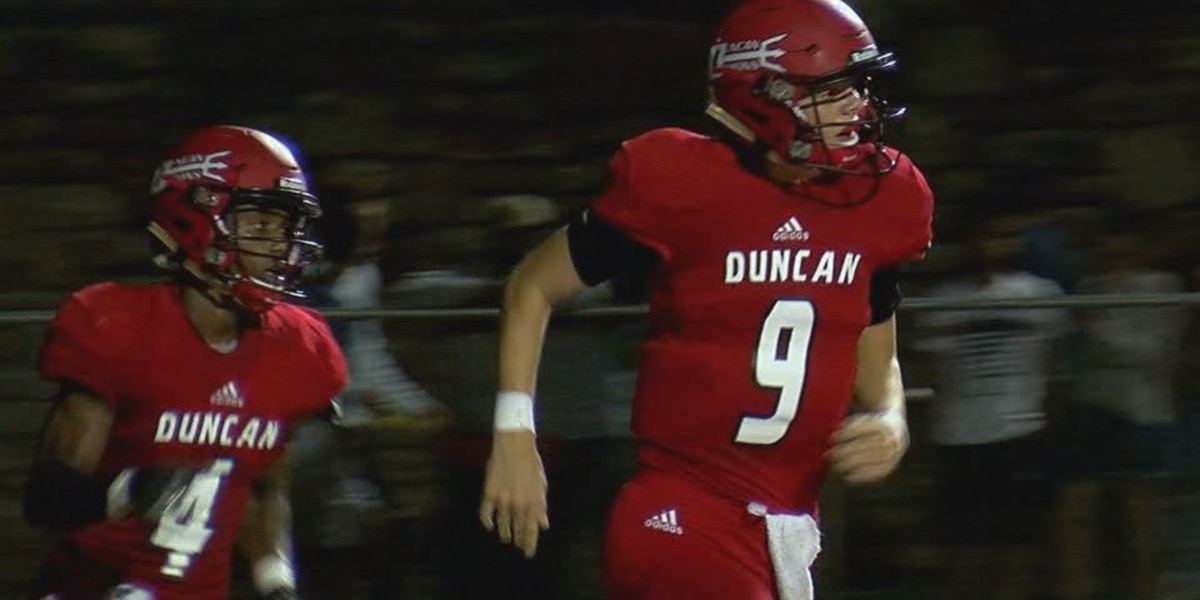 No. 6 Duncan to face No. 2 Ardmore in clash of 5A-1 unbeatens